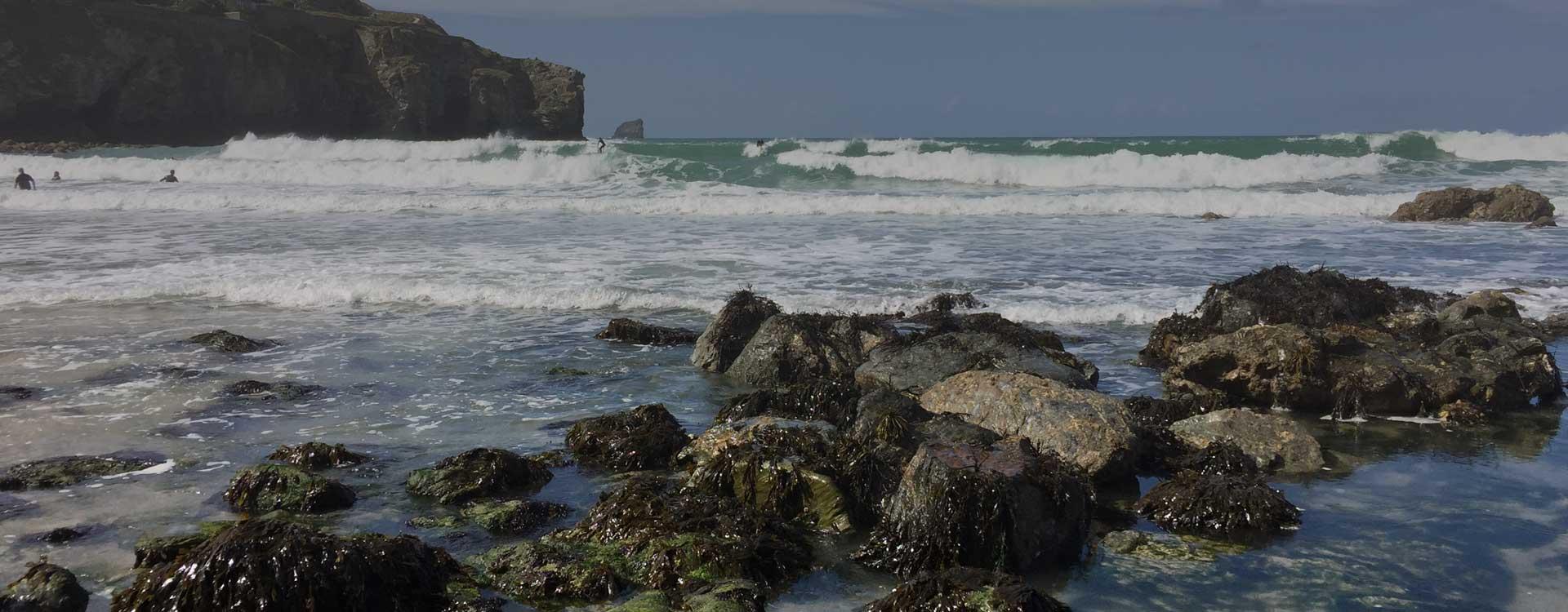 St Agnes Cornwall - local beach